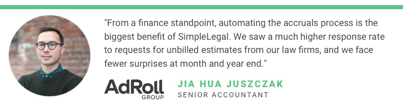 Jia Hua Senior Accountant AdRoll