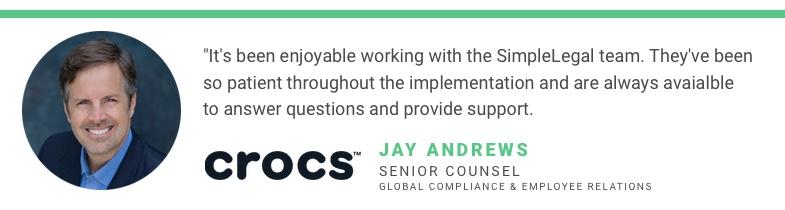 Jay Andrews Case Study Quote